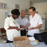 Donation of Medical Devices to Dr. Kevin Martin and Haed Nurse at Borradaile Hospital