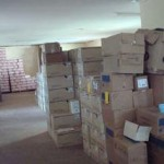 Howard Hospital Supplies donated by Health Partners International - Canada